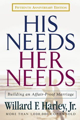 His Needs Her Needs - this book really is amazing for relationships. I recommend it!