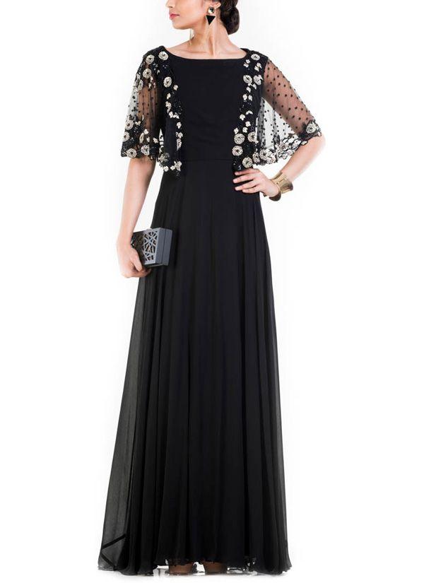 Long Jet Black Dress Black Dresses Classy Western Dresses For Women Classy Dress