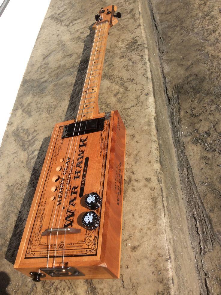 Pin by Dennis Reedy on My Cigar Box Guitars