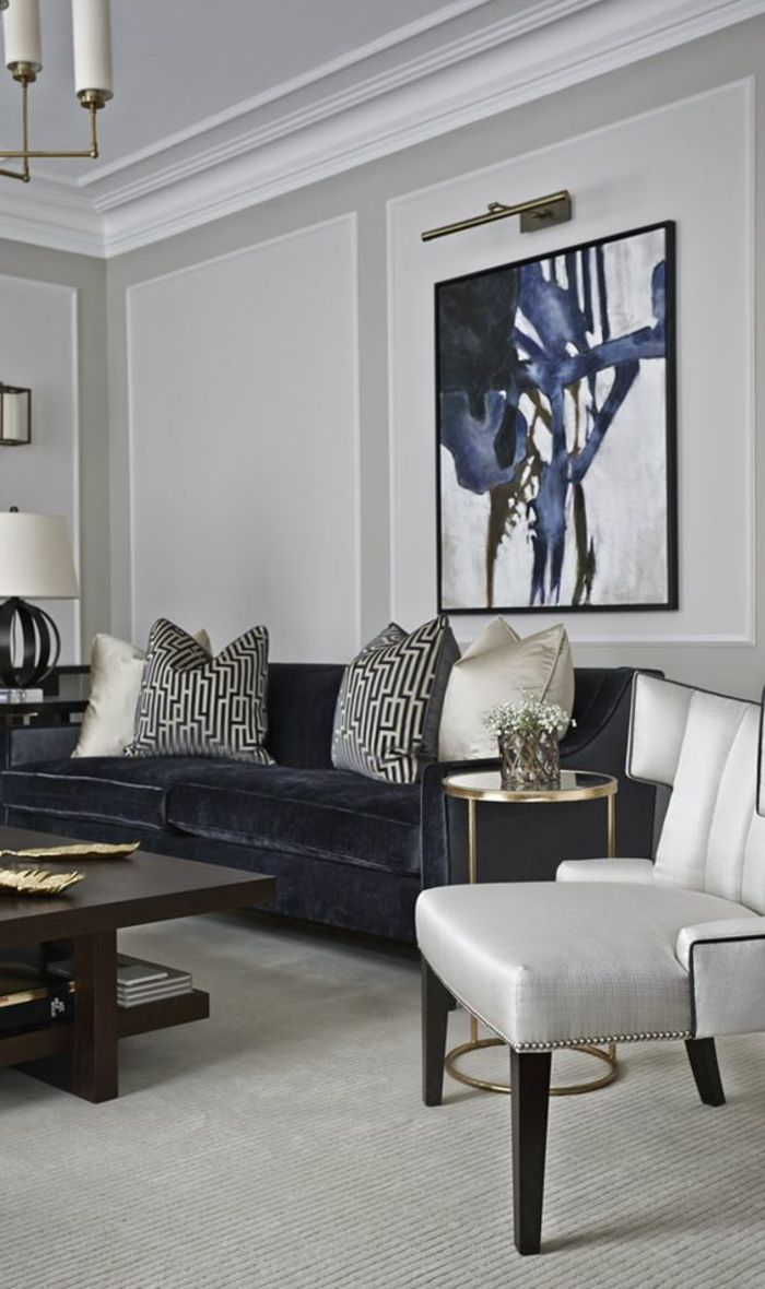 17 meilleures id es propos de peinture gris clair sur - Peinture salon gris clair ...
