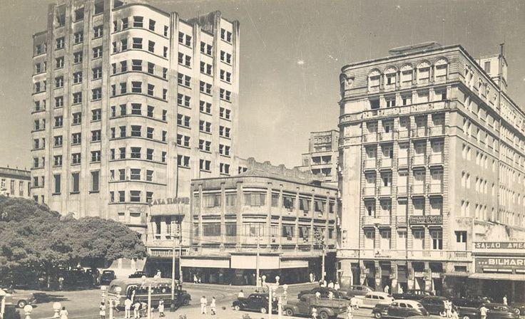 Praça do Ferreira, anos 50.