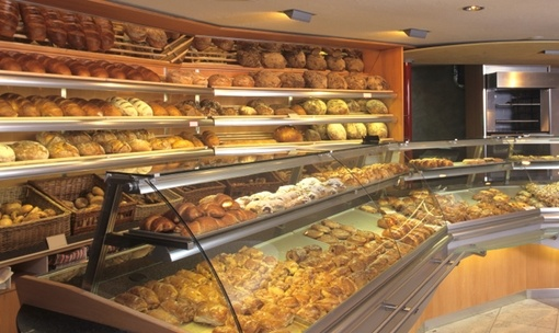 Large bread counter