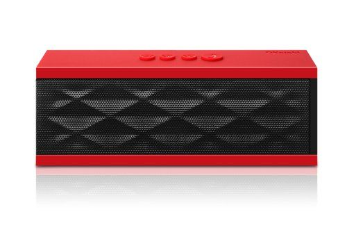 """Black Friday Deal DKnight Magicbox Ultra-Portable Wireless Bluetooth Speaker,Powerful Sound with build in Microphone, Works for Iphone, Ipad Mini, Ipad 4/3/2, Itouch, Blackberry, Nexus, Samsung and other Smart Phones and Mp3 Players [Upgraded with standard """"Beep"""" sound prompts ] (Red) from DKnight Cyber Monday"""