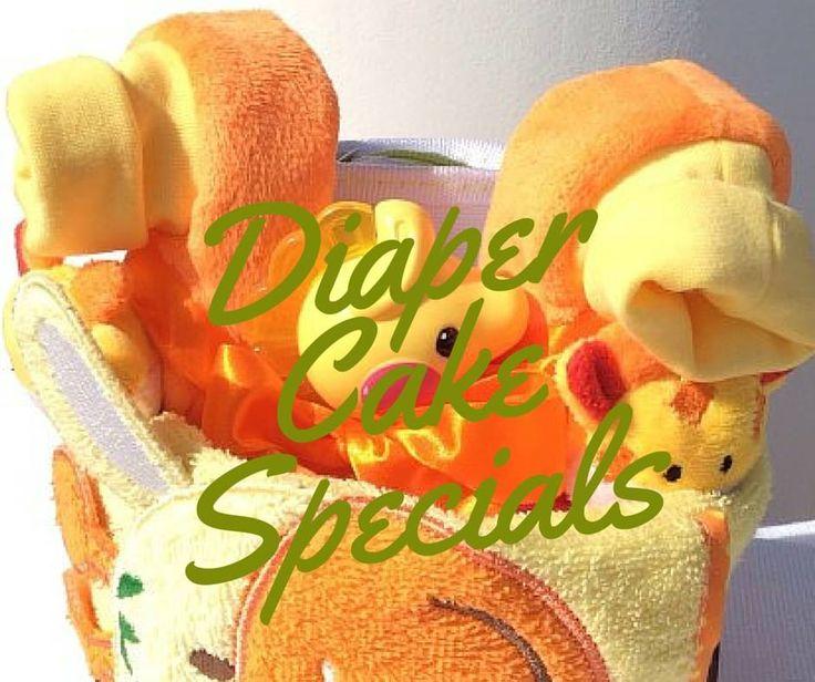 Diapercakes ή αλλιώς Τούρτες από Πάνες! Απλά και χωρίς πολλά λόγια ένα Τέλειο δώρο! http://buff.ly/1FFd967
