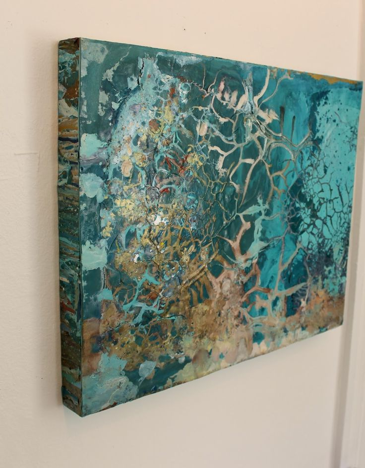 """Kimberly Conrad Contemporary Abstract Art """"Pouring Color Into Your Life"""": Organic Abstract,Contemporary Expressionism Painting """"Reach For Me"""" by Colorado Contemporary Artist Kimberly Conrad"""