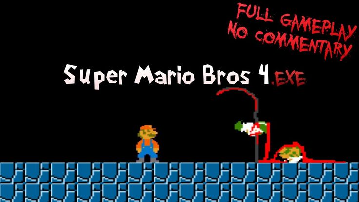 Super Mario Bros 4.exe - Full Gameplay - No Commentary - YouTube