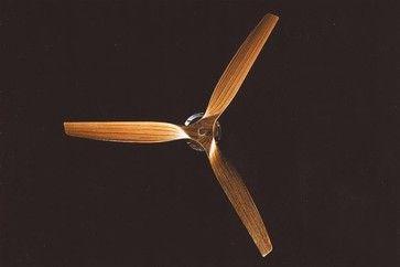contemporary wood ceiling fan | Boffi Minimal GRCB02 Ceiling fan - modern - ceiling fans - by reuter ...