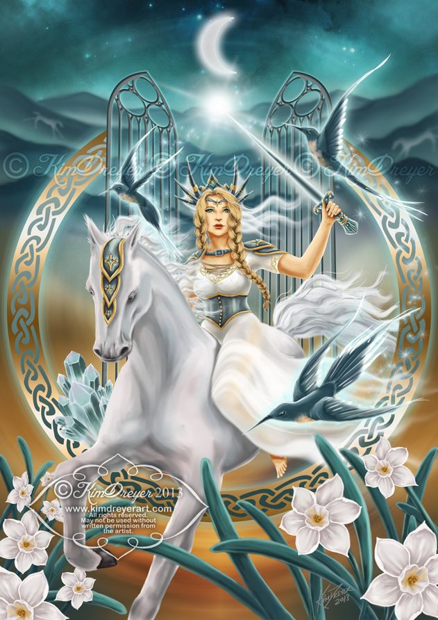Kim Dreyer - The Goddess Rhiannon