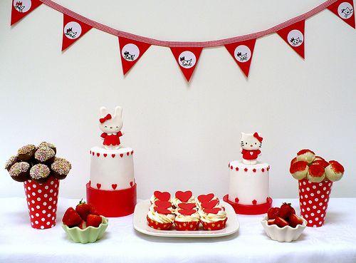 Red & White Hello Kitty party