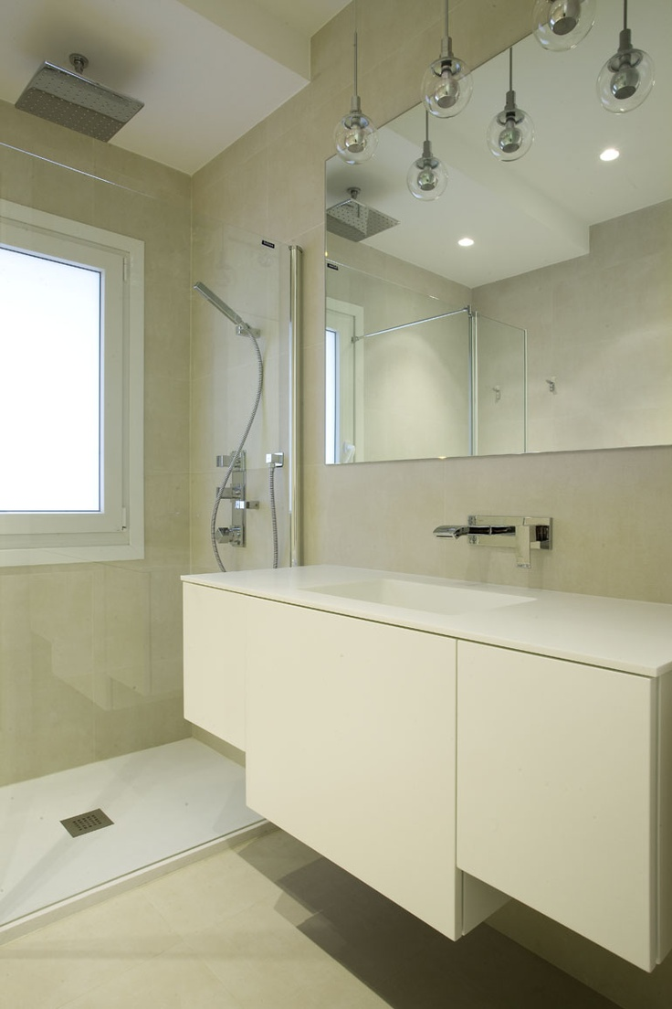 Cuarto de ba o reforma vivienda c amaya pinterest bath for Reforma cuarto de bano