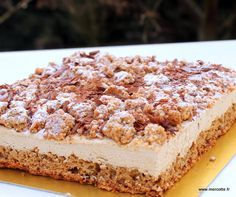 Gâteau au café doux… très doux, de PhilippeConticini
