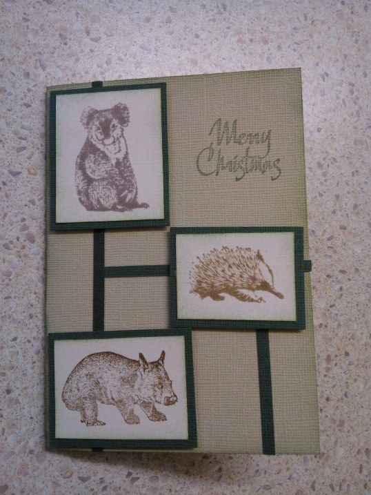Aussie Christmas - Designed and created by Jan Lia