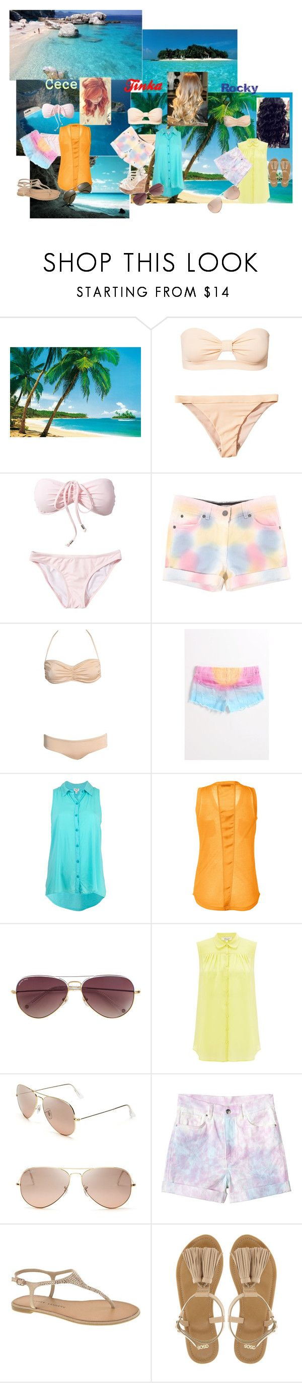 """Shake it up Summer"" by glee2shake ❤ liked on Polyvore featuring Wonderland, Billabong, Splendid, Steffen Schraut, MICHAEL Michael Kors, Somerset by Alice Temperley, Ray-Ban, Monki, Chinese Laundry and ASOS"