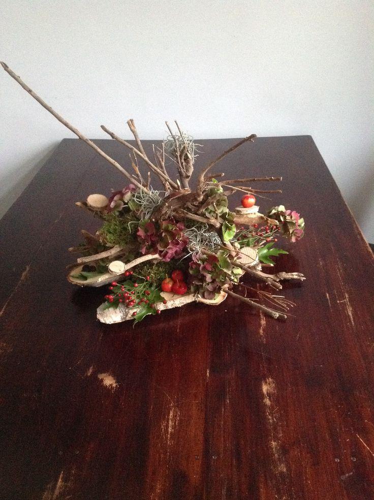 Gisteren gemaakt tijdens de workshop van de Wilgenteen! Bloemschikken, creatief, herfst, tafelstuk.