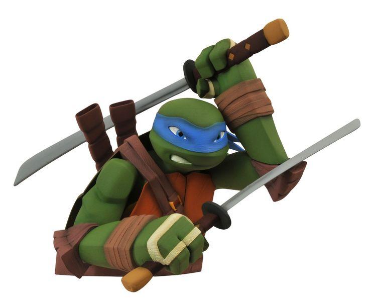 teenage mutant ninja turtles leonardo bust bank #transformer