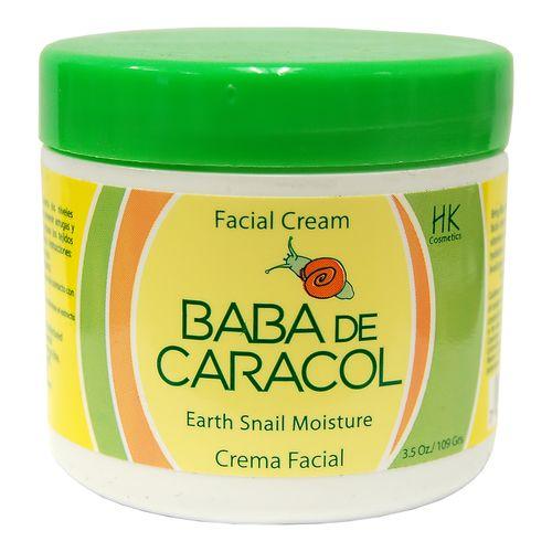 Baba De Caracol Earth Snail Moisture Facial Cream 3.5 oz