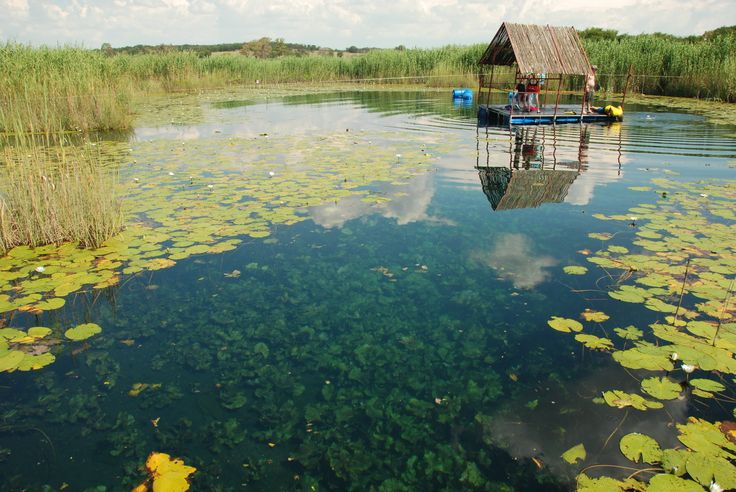 The clear waters of the Marico Eye, North West Province