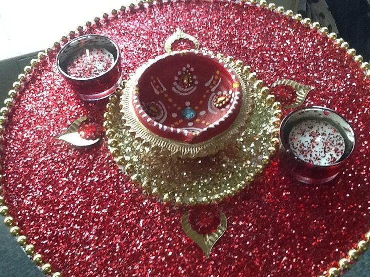 Diy Mehndi Plates : Best mehendi plates thaals images indian