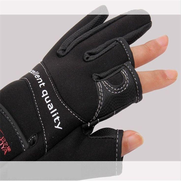 Trulinoya 3 Three Low Cut Fingers Anti-slip Men's Fishing Gloves Fast Drying  Water-Proof Fish Fishing Gloves   $44.60   UFishing Zone   ufishingzone.com