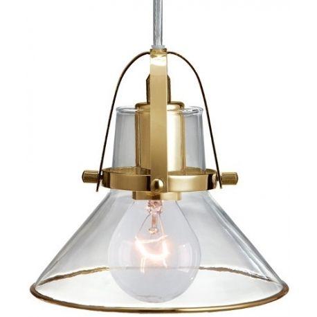 Małej wielkości szklana lampa Hunneberg, dostępna również w srebrnym wykończeniu. http://blowupdesign.pl/pl/33-wiszace-stolowe-lampy-szklane-kule-styl-nowoczesny #lampyszklane #lampywiszące #modneoświetlenie #glasslamps #lighting