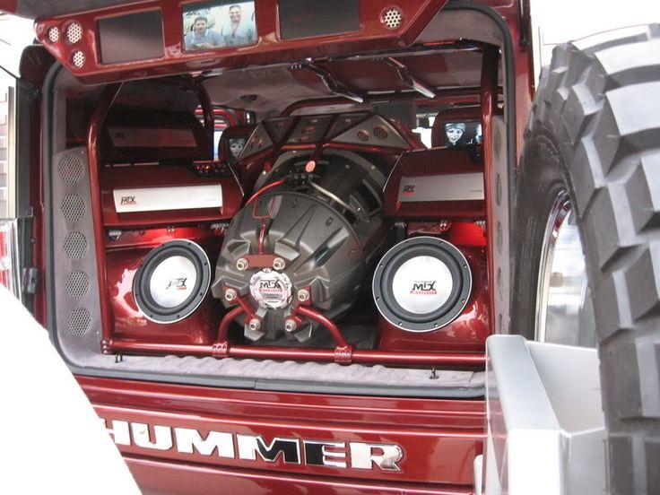 "22"" JackHammer in a custom Hummer H2 built by Tom Bostic"