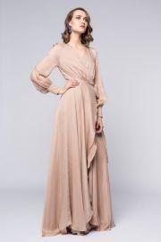 Rochie petrecuta lunga - Cod: RPL1NU - Haine dama - Silk Love Lace