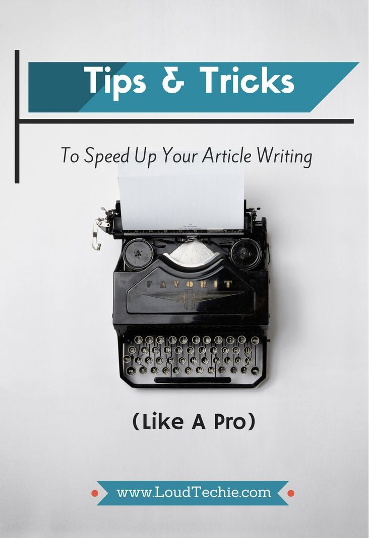 Speed is an integral part of an online business's development. There is no place for any delay and procrastination. Especially, when you deal with creating a writing content. If you let yourself reduce the tempo of your online activity, your competitors will devour you.   #Better Writing #Writing #Writing Tips