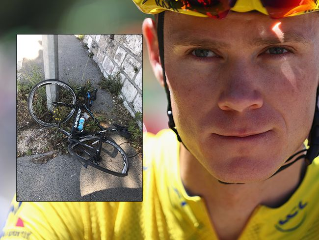 Chris Froome atropellado por un conductor que se dio a la fuga  Chris Froome atropellado por un conductor que se dio a la fuga Chris Froome ha sufrido un atropello sin consecuencias graves mientras entrenaba cerca de Mónaco en la localidad francesa de Beausoleil. El ciclista británico vigente campeón del Tour de Francia ha denunciado la agresión en su cuenta de Twitter. Continuar Leyendo http://ift.tt/2qmfZyb pelfectos