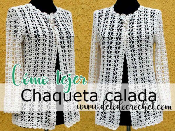 Todo Crochet Chaqueta De Ganchillo Patrón Para Chaqueta De Ganchillo Suéter De Ganchillo