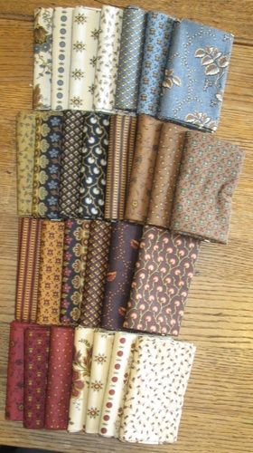 Savannah - Jo Morton Andover Fabrics The Noble Quilter carries the full line of Savannah.