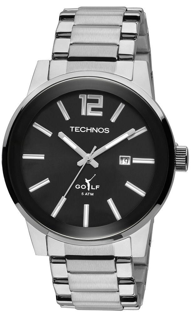 Relógio Masculino Technos Classic Golf Analógico 2115TU/1P