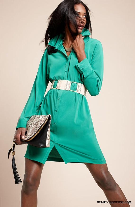 Melodie Monrose in Calvin Klein