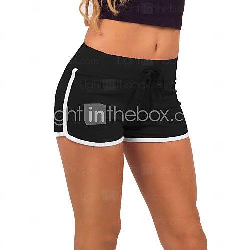 Damebukser Shorts  -  Medium  -  Elastisk - DKK kr45.00
