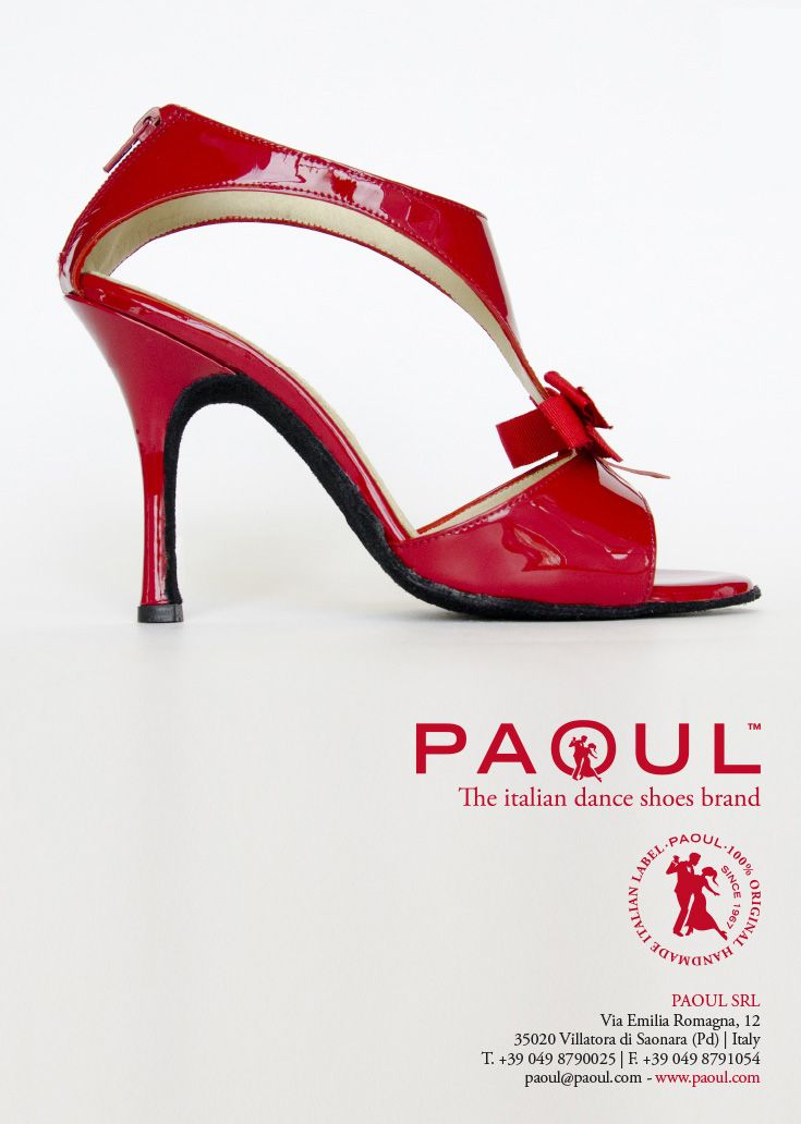 Campagna pubblicitaria Paoul, creata da #effADV - #advertising campaign created by effADV - #ad #adv #shoes #danceshoes