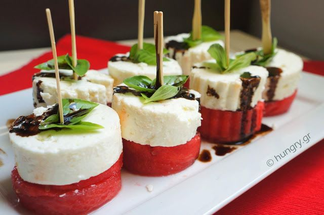 Kitchen Stories: Watermelon & Feta Appetizer