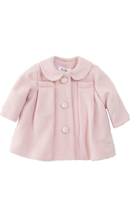 Baby Dior Dress Coat with Hat