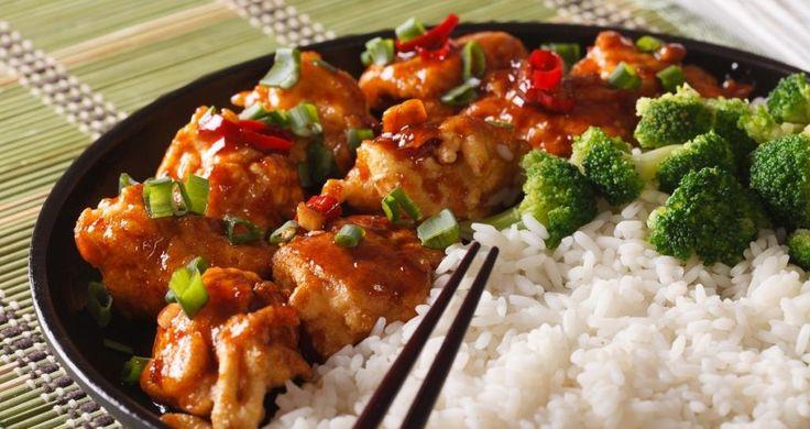 Une version simplifiée et allégée du célèbre poulet Général Tao - Recettes - Ma Fourchette