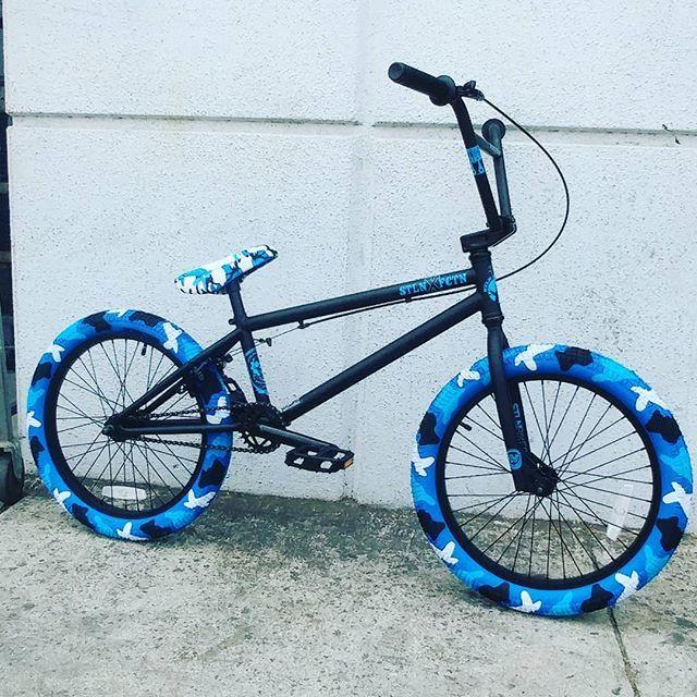 2019 Stolenbikeco X Fictionbikes 20 Inch Bmx In Black And Blue Camo Sanjosebicycles Stolenbmxco Fictionbmx Bmx Bikes Bmx Bicycle Best Bmx