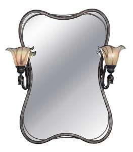 Inverness 2 light bathroom vanity mirror