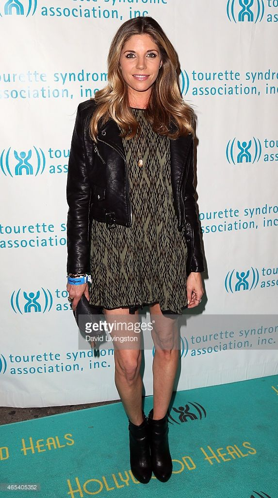 Actress Andrea Bogart attends the 2nd Annual Hollywood Heals Spotlight On Tourette Syndrome at...