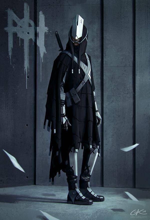 cybernetic-psychosis:  N0de W0rld - Aeontology Vigilante. by Gillesketting