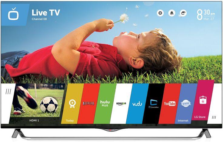 LG Electronics 55UB8500 55-Inch 4K Ultra HD 120Hz Passive 3D Smart LED TV - $1,699.00