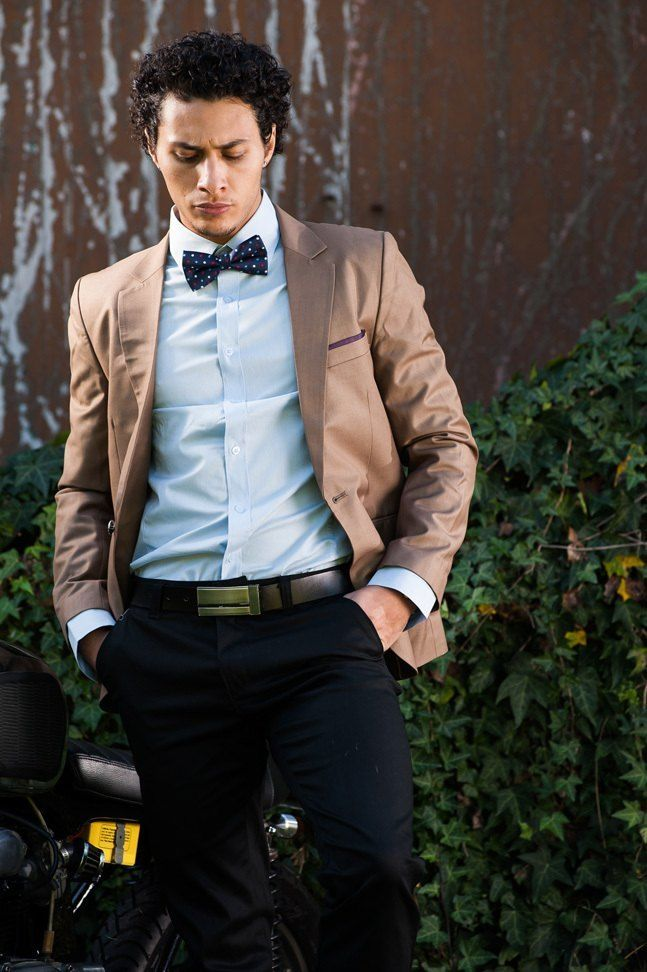 Men's Slim Fit Premium Blazer – Brown $99.95  #Blazers&Jackets #www.sieteclothingco.com.au