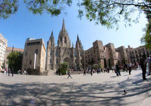 Barcelona - katedrála sv. Kříže a sv. Eulalie