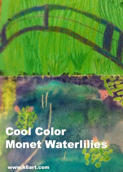 Claude monet water lilies descriptive essay