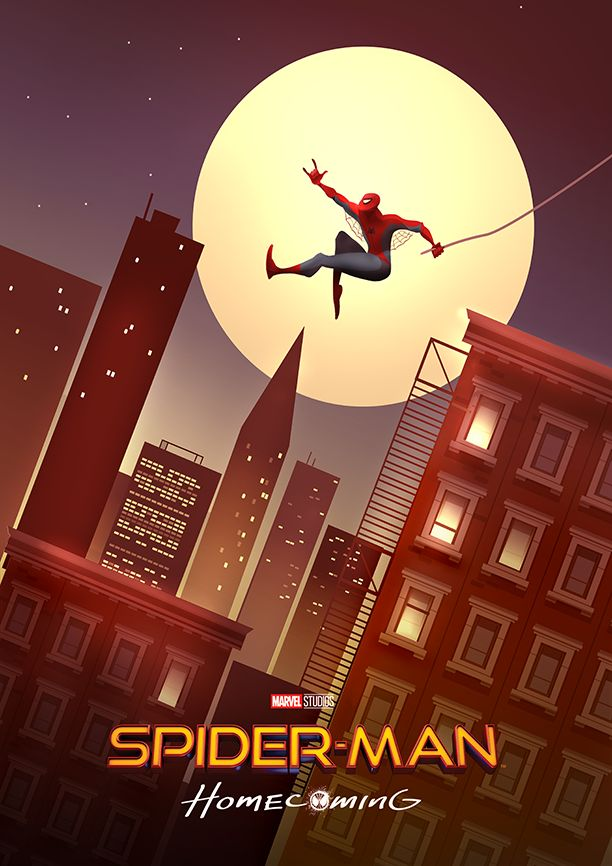 Spider-Man Homecoming Poster - Created by Cristhian Hova