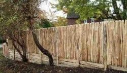 Cleft Chestnut close board fence