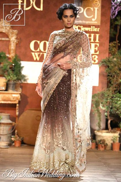 Sabyasachi designer saree collection ! Cud be worn in reception or other functions !