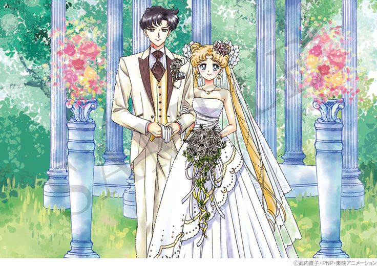"""sailor moon"" ""sailor moon merchandise"" ""sailor moon toys"" ""sailor moon crystal"" marriage registration todoke japan anime shop wedding bride groom"