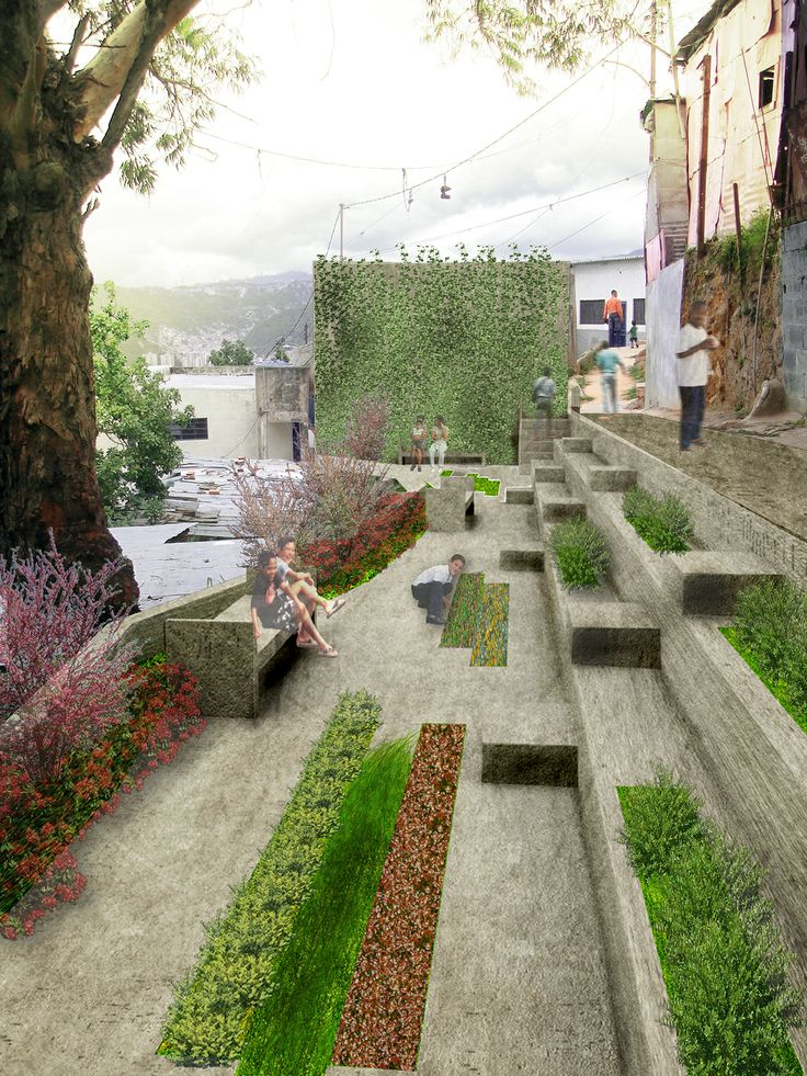 Galeria de acupuntura urbana busca requalificar o bairro for Eco landscape design